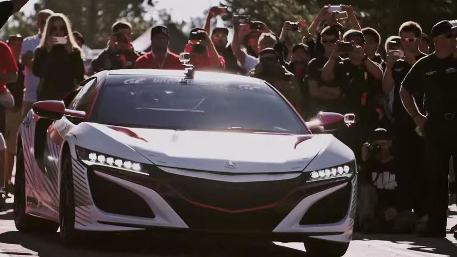 Acura shows off the NSX pace car for Pikes Peak, final specs still not available [video]
