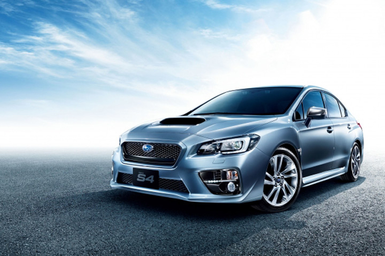 Subaru Launches Hopped-Up WRX S4 in Japan