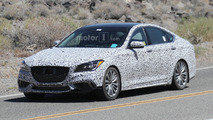 Genesis G80 looks sporty in new spy shots