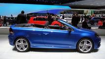 Volkswagen Golf VI R Cabriolet at 2013 Geneva Motor Show