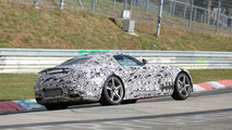 2015 Mercedes AMG GT spy photo