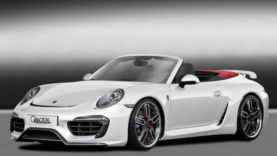 Porsche 911 Cabriolet restyled by Caractere Exclusive