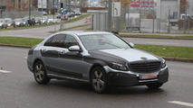 2014 Mercedes-Benz C-Class returns in more revealing spy photos