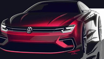 Beijing-bound Volkswagen New Midsize Coupe concept likely previews Golf/Jetta CC
