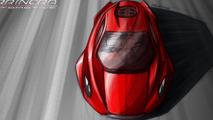 Arrinera supercar production sketches 17.7.2012