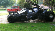 Man Makes Batmobile Replica In His Own Garage
