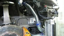 HKS GT570 intercooler and pipes for Nissan GT-R