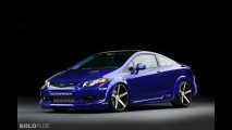 Honda Civic Si Coupe Fox Marketing SEMA