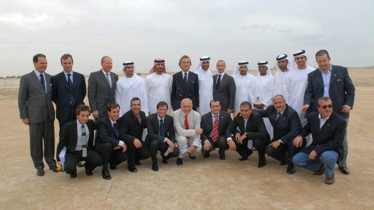 Ferrari Theme Park in Abu Dhabi