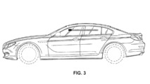 BMW 6-Series-based 4-door coupe patent sketches 13.06.2011