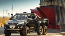 Toyota Hilux 6x6 interior customized by Overdrive