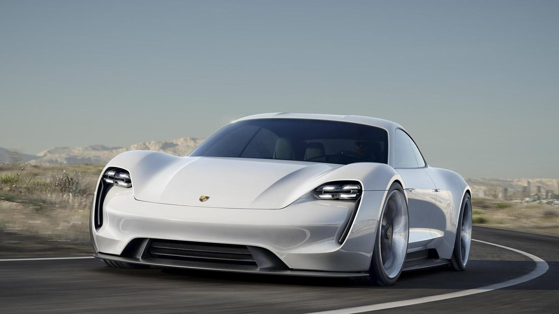 Porsche shows how the Mission E concept was born