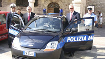 Chevrolet Matiz for Italian Police