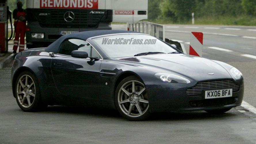 Spy Photos: More Aston Martin V8 Roadster