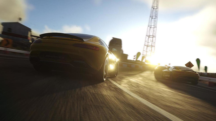 Mercedes-AMG GT partially revealed in Driveclub PS4 video game screenshots