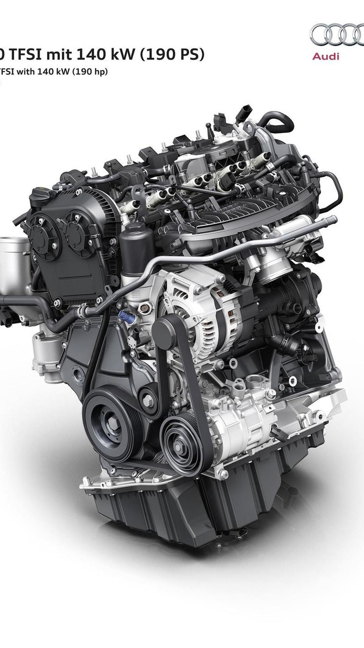 Audi 2.0 TFSI engine for 2016 A4