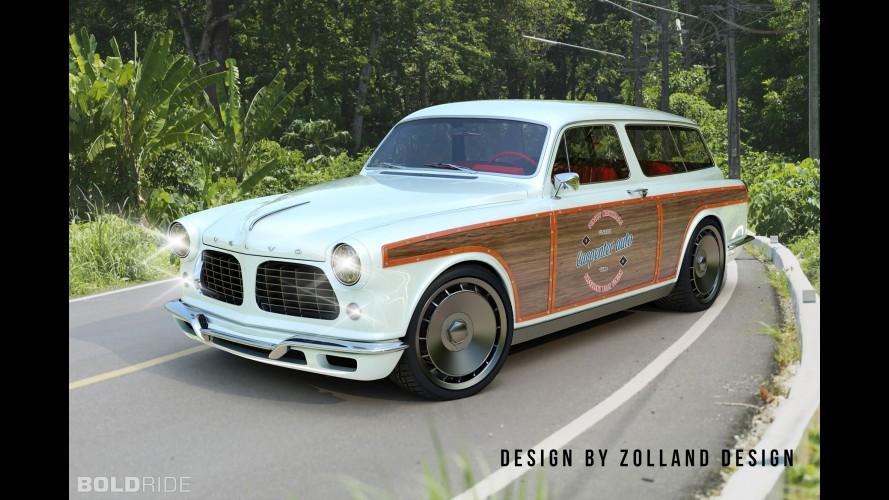 Zolland Design Volvo Amazon Custom Wagon