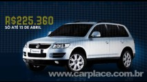 Volkswagen oferece desconto de até R$ 33 mil para linha Passat e Toureg