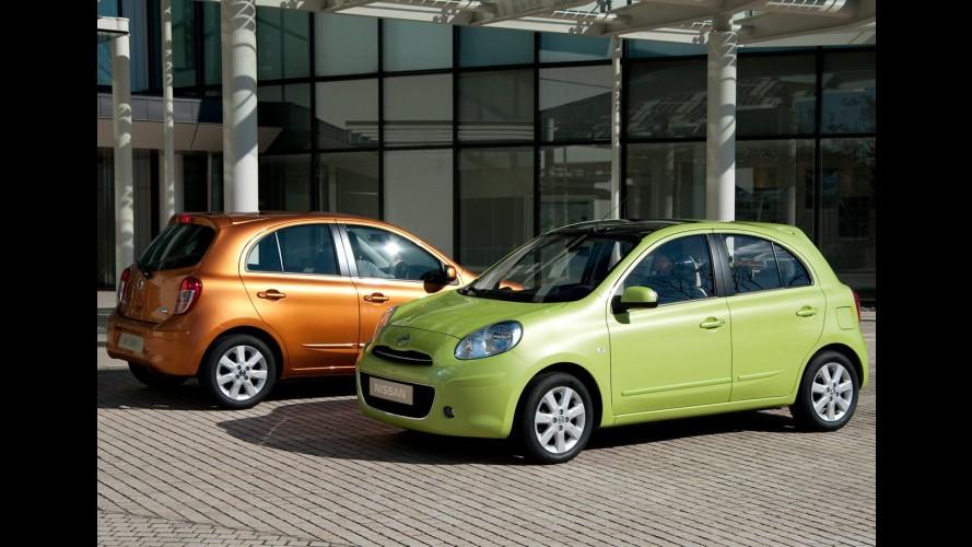 Nissan March supera expectativa e atinge 54 mil pedidos