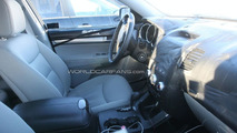 2010 Kia Sorento interior spy photo