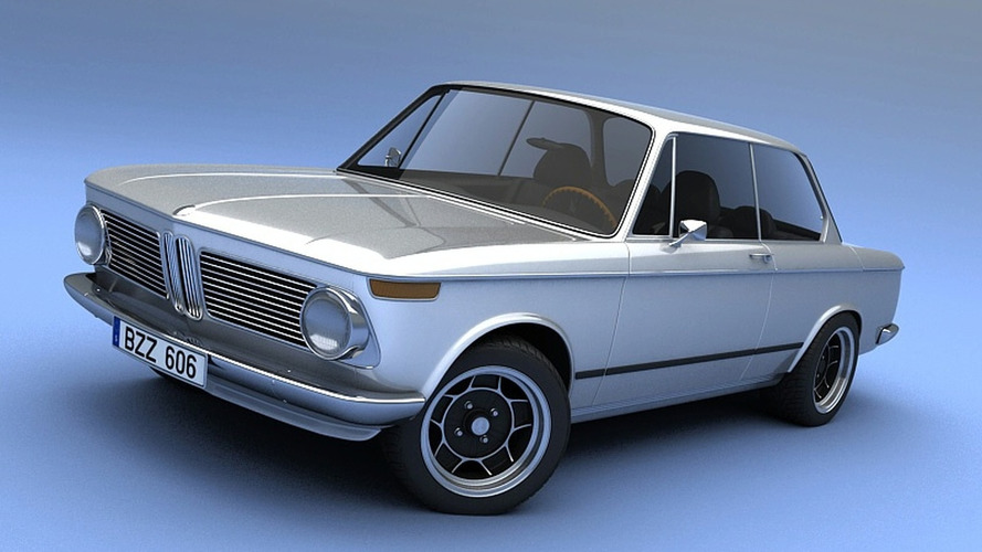 3D Rendered: Vizualtech Pays Tribute to BMW 2002