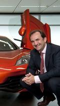 Antony Sheriff, McLaren Automotive Managing Director
