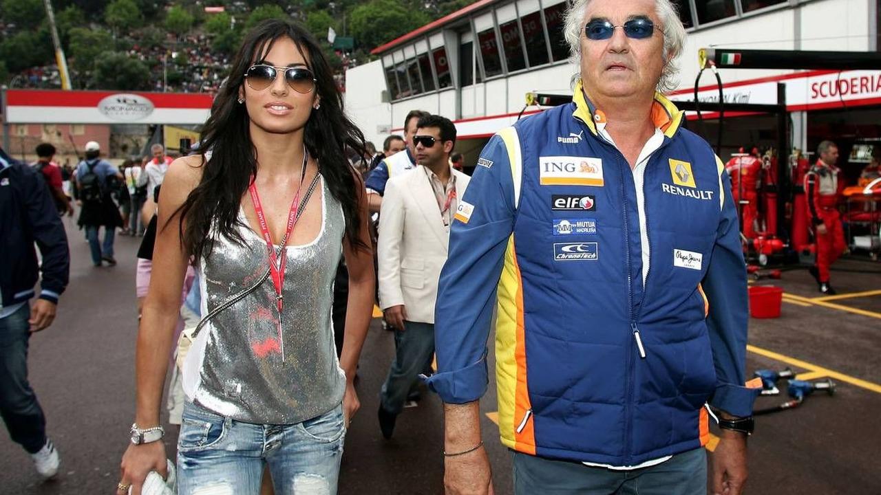 Elisabetta Gregoraci (ITA), Flavio Briatore (ITA), Monaco Grand Prix, 25.05.2008 Monte Carlo, Monaco