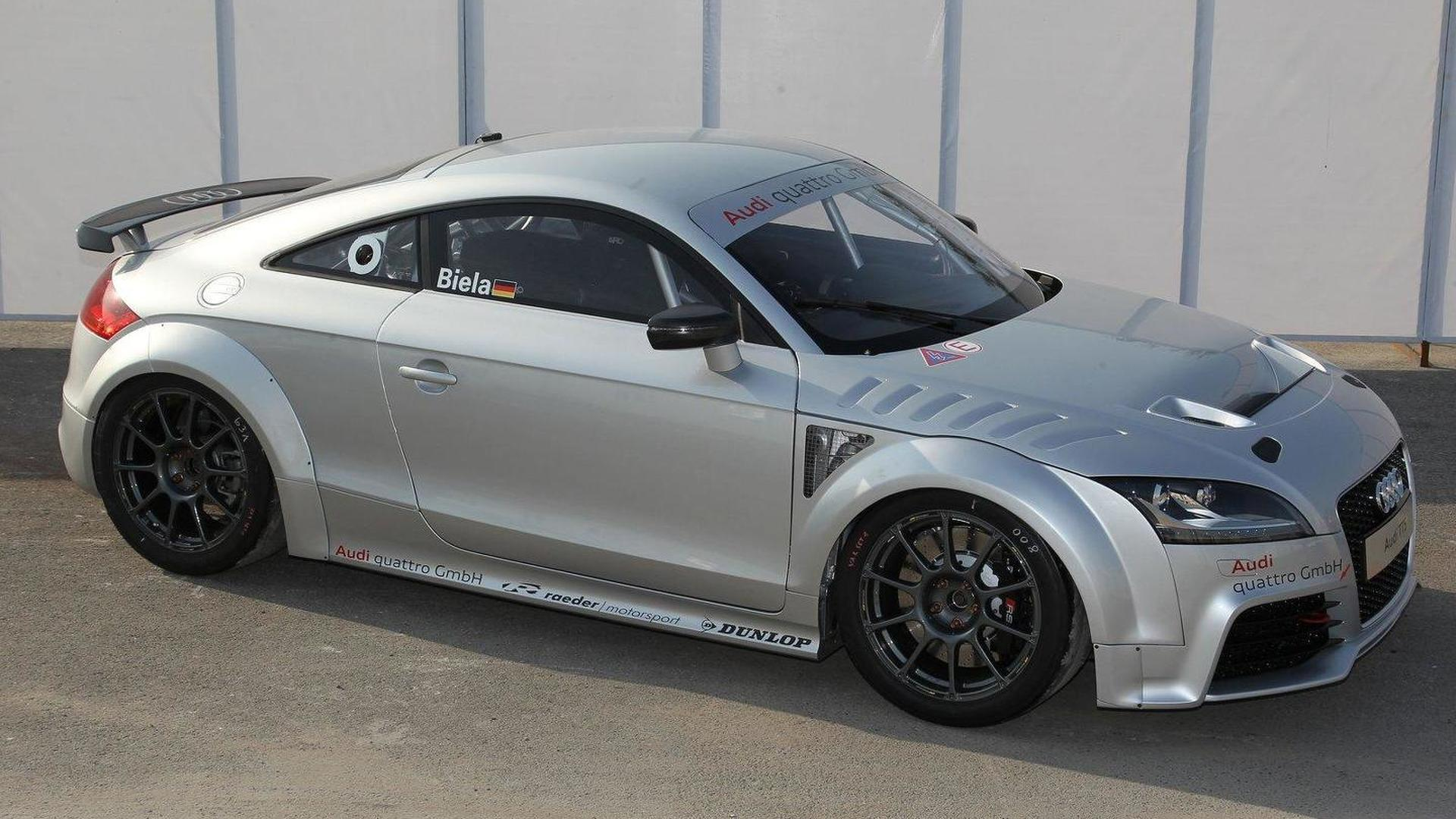 Audi TT GT4 concept revealed for club sport racing