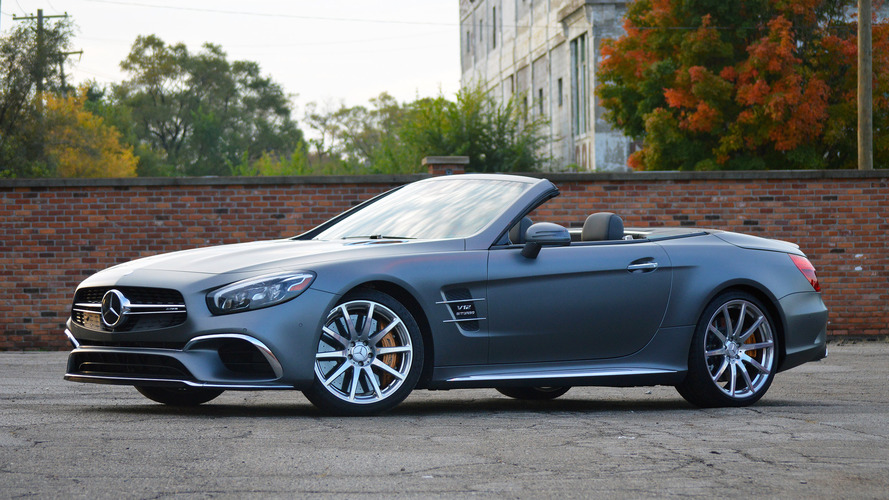 2017 Mercedes-AMG SL65 Review