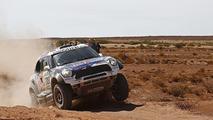 Dakar Cars, Stage 8: Al-Attiyah ends Peugeot's victory run as Loeb rolls