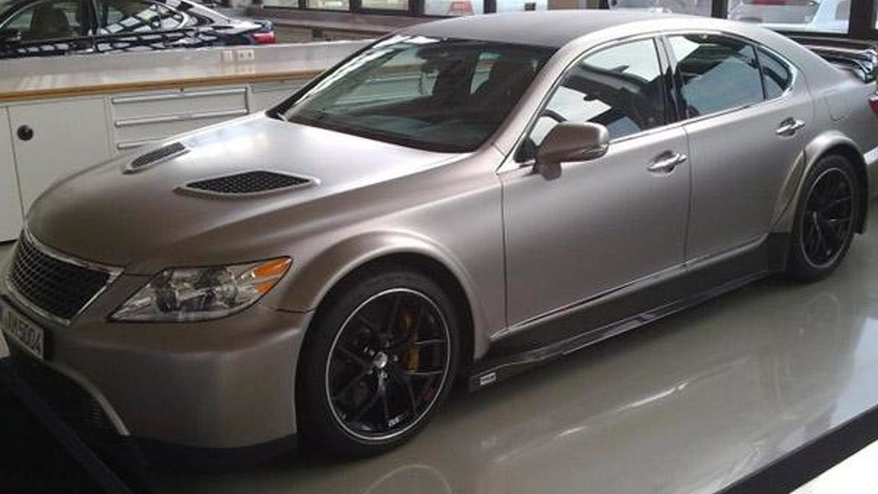 Lexus LS TMG Edition leaked photo - 22.9.2011