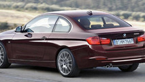 2013 BMW 3-Series Coupe rendered 17.10.2011