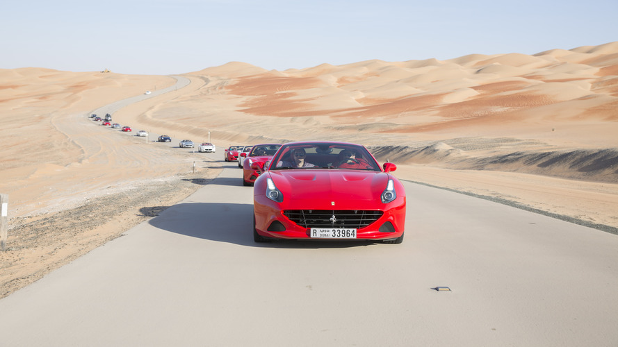 Ferrari highlights the California T Deserto Rosso