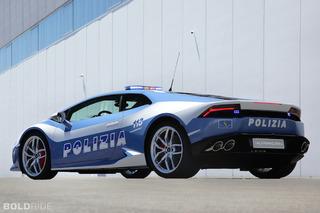 Lamborghini Huracan Cop Car Puts Speeders On Notice