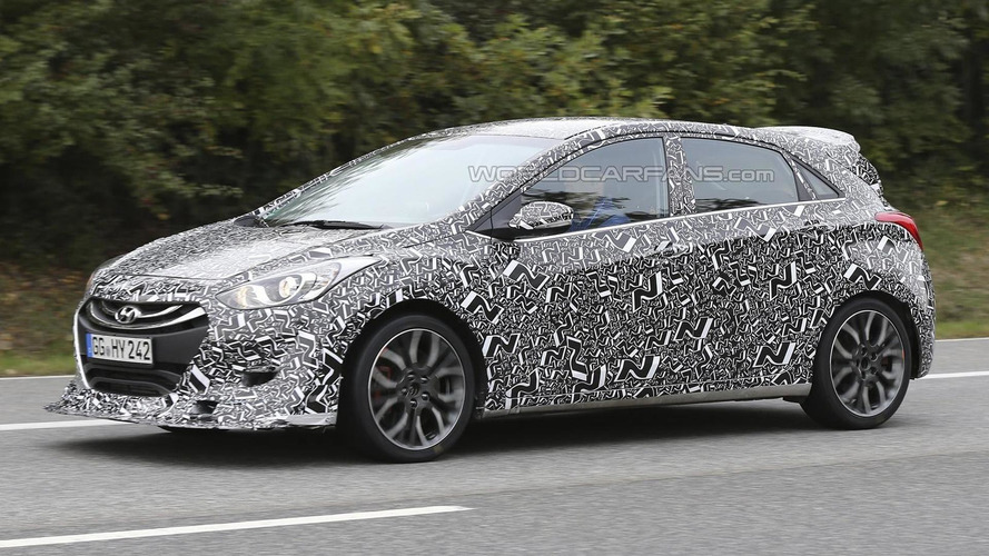 Hyundai i30 N spied on the 'Ring, looks to challenge the Focus ST