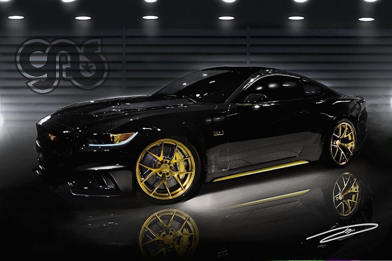 Ford Shows Off Two Supercharged SEMA Mustangs