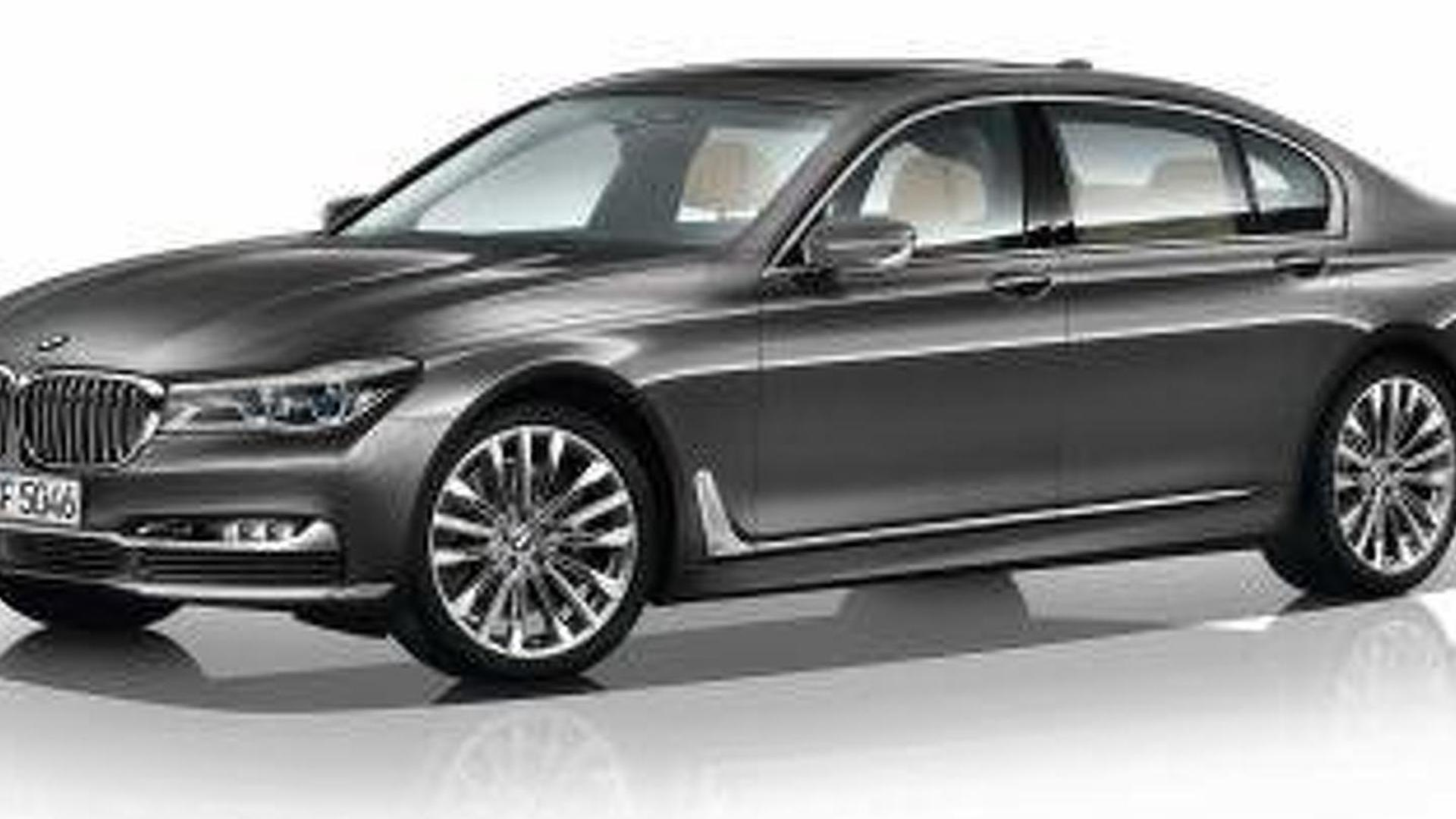 2016 BMW 7-Series pricing and options accidentally revealed on Austrian configurator (19 photos)
