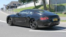 Bentley Continental GT Spy Photos