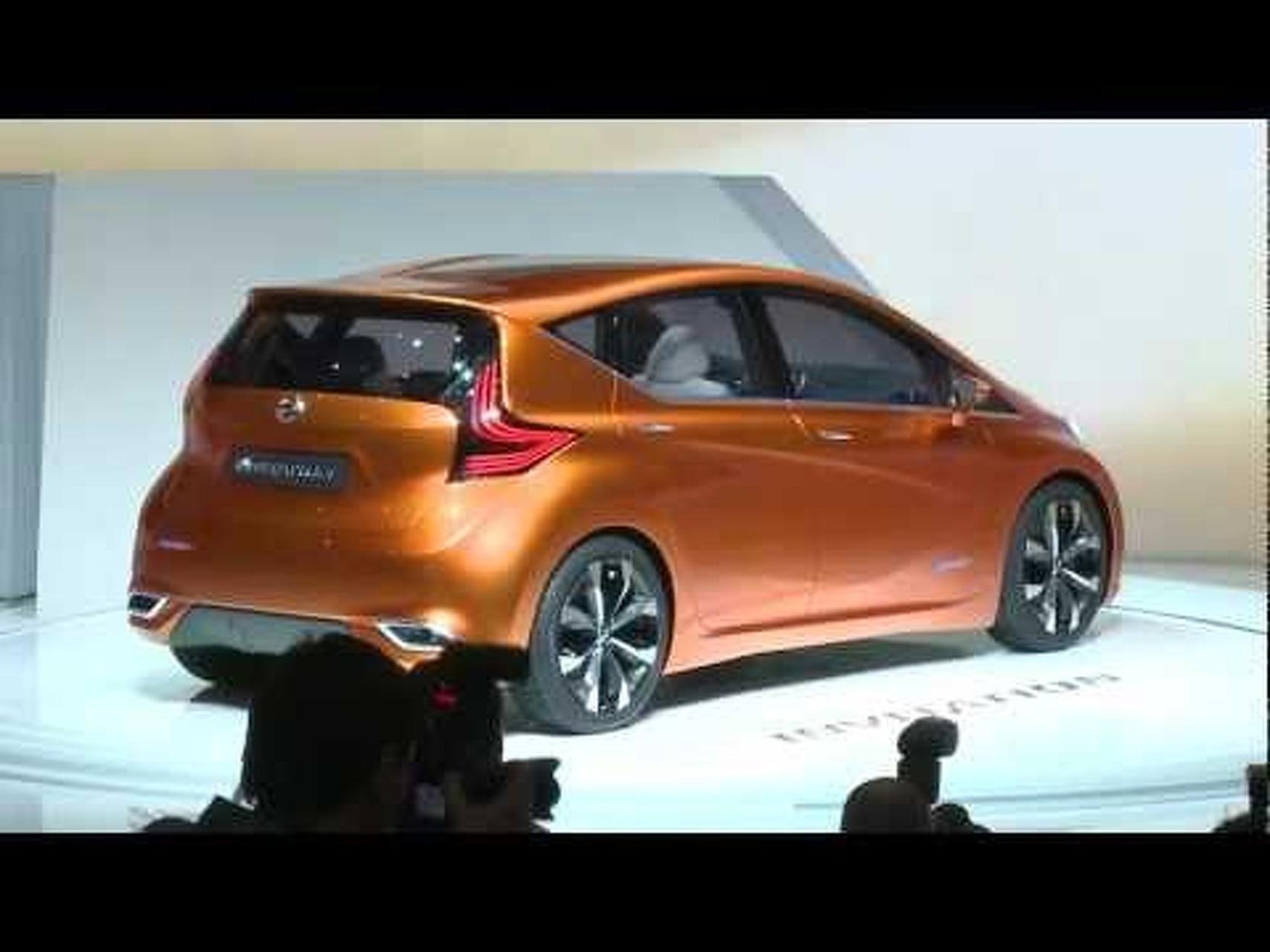 Nissan Invitation Concept at the 2012 Geneva Motor Show