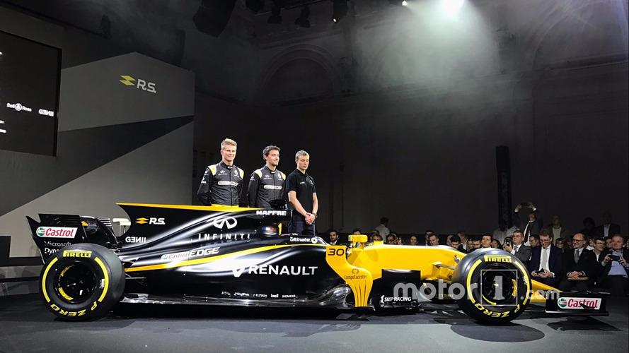 2017 Renault F1 car