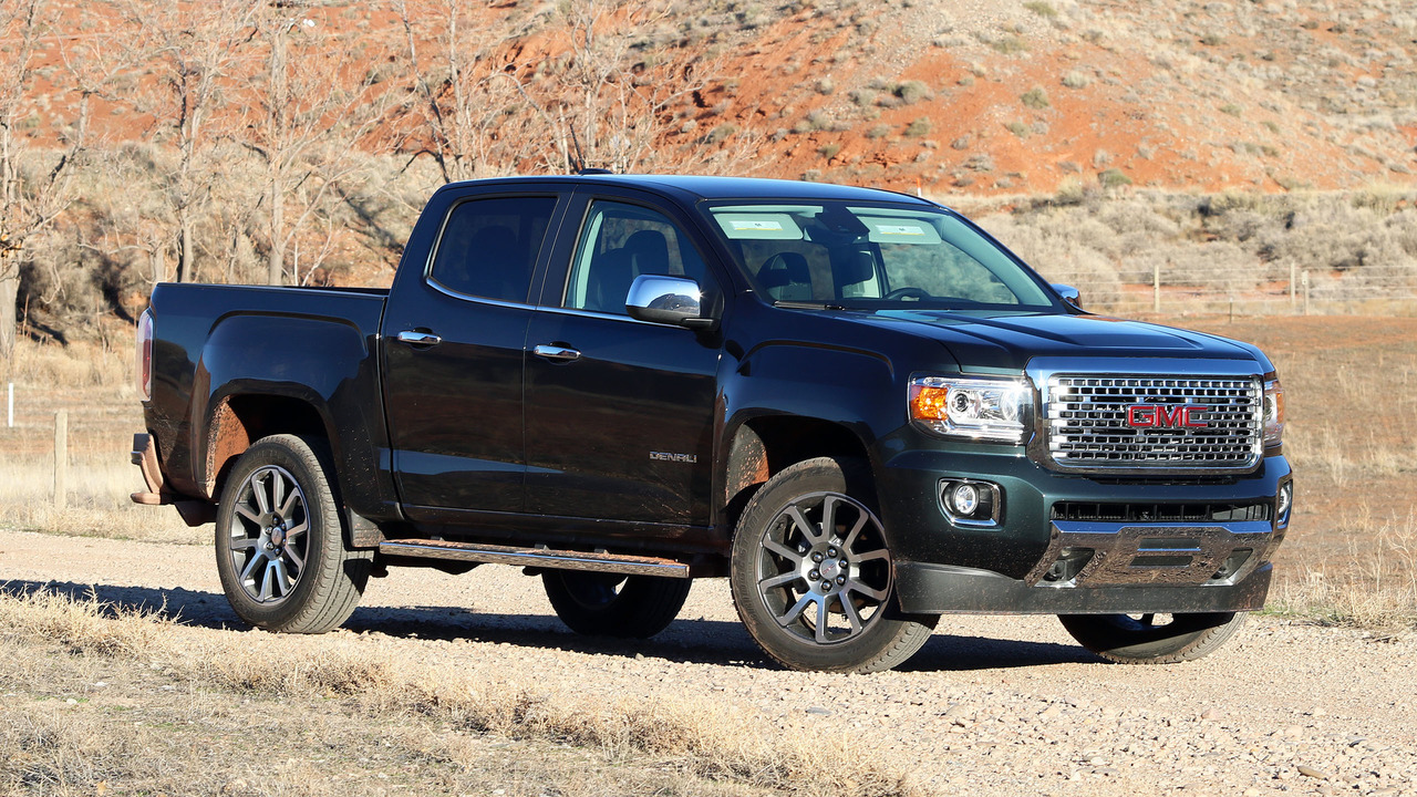 Tacoma V6 Towing Capacity >> 2017 GMC Canyon Denali Review: What am I paying for, again?
