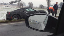 Alfa Romeo 4C prototype crash 18.12.2012