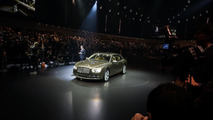 2014 Bentley Continental Flying Spur world debut live in Geneva 04.03.2013