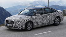 2015 Audi A8 facelift spied once again