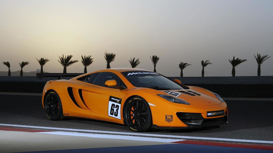 Track-only McLaren 12C GT Sprint unleashed