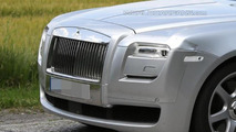 2014 Rolls-Royce Ghost spied hiding minimal changes