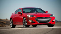 2014 Hyundai Genesis Coupe revealed with minor updates, improved transmissions