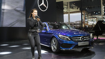 Mercedes C-Class L live at Auto China