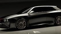 Lancia Delta HF Integrale concept digitally imagined