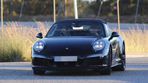Porsche 911 Targa facelift spied featuring mildly revised styling